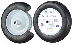 TIRE:Flat Free WLB 3.50 2.50-8 00003 by Arnold