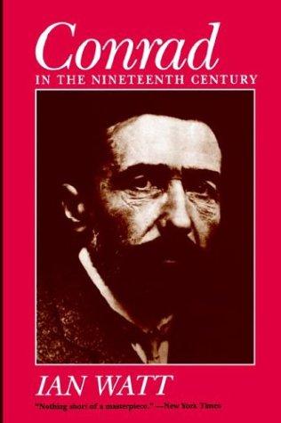 Conrad in the Nineteenth Century