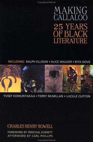 Making Callaloo: 25 Years of Black Literature