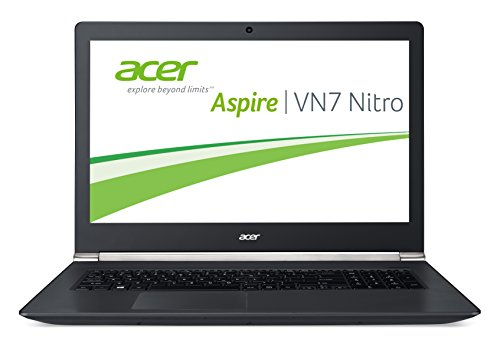 Acer Aspire V 17 Nitro (VN7-791G-7085) 43,9 cm (17,3 Zoll Full HD ) Notebook (Intel Core i7-4720HQ, 8GB RAM, 1008GB SSHD, NVIDIA GeForce 940M, DVD, Win 10 Home) schwarz