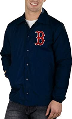 Boston Red Sox Battery Jacket By Mitchell & Ness