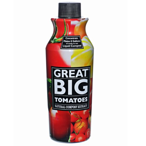 Great Big Plants Tomatoes Natural Compost Extract, 32-Ounce