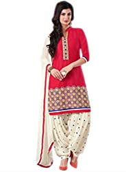 Sky Global Women's Printed Unstitched Regular Wear Dress Material (SKY_528_Multi-Coloured)