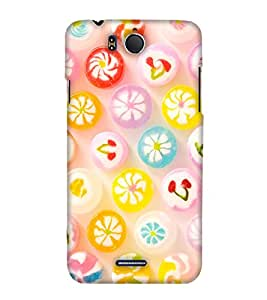 PrintHaat Designer Back Case Cover for InFocus M530 (a lot of sweet candies :: colourful candy :: fun :: masti :: childhood nostalgia :: delicious candy in multicolour)