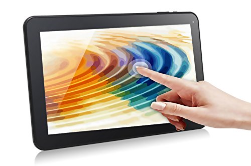 Dragon Touch® A1 Plus 10.1 Quad Core Google Android 4.4 KitKat Tablet PC, Allwinner A33 Cortex A7 CPU, 8GB Nand Flash, 10.1 inch Multi-Touch Screen, Dual Camera, Google Play Pre-installed, Netflix, Skype, 3D Game Supported [ by TabletExpress 2015 New Mo yuntab 7 inch q88 allwinner a33 quad core 512mb 8gb android 4 4 kids tablet pc hd screen dual camera
