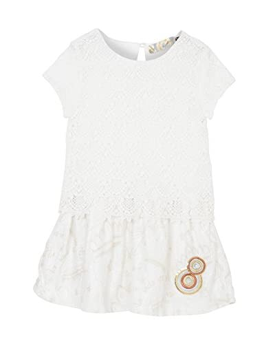 Desigual Vestido Blanco