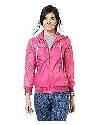 Yepme Klara Full Sleeves Jacket - Pink -- YPMJACKT5159_XL