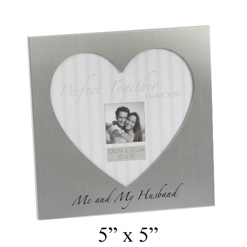 Love Heart Picture Frame - With The Words