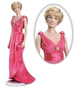 Princess Diana Vinyl Portrait Doll - Fuchsia Silk Gown