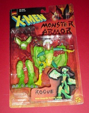X-Men Monster Armor Rogue Action Figure - 1