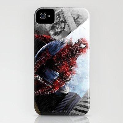 Society6/ソサエティシックス iphone5/5Sケース スパイダーマン Spiderman Spidey