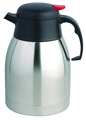 COOX 1.2L Mini Vacuum Insulated Thermal Carafe Pitcher - Unbreakable Stainless Steel Double Wall Jug for Coffee or Hot & Cold Drinks (Vacuum Insulated Thermal Carafe compare prices)