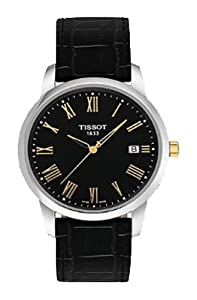 Tissot Men's TIST0334102605301 Class Dream Analog Display Swiss Quartz Black Watch