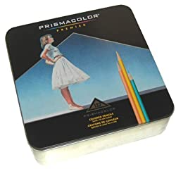 132 Color Prisma Pencil Tin Set Prismacolor Premier 1-box Set 4484