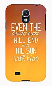The Fappy Store Les-Miserable hard plastic back case cover for Samsung Galaxy S4