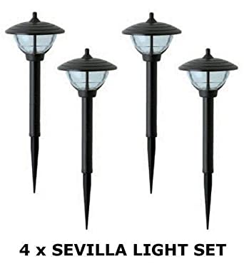 Low voltage garden post lights