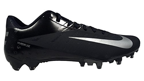 Nike Vapor Talon Elite Low TD Football Cleats (11, Black/Metallic Silver)