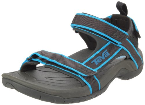 Teva Men's Tanza Outdoor Sandals 9033 Methyl Blue 10 UK