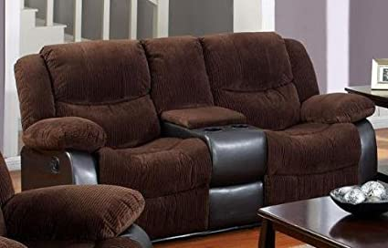 Bernal Corduroy Fabric Loveseat by Acme Furniture