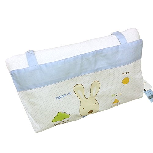 [Cute Baby] Infant Pillow Prevent Flat Head (Blue) front-299781