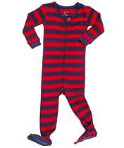 Carter/'s Navy Puppy Dog One-Piece Fleece Sleeper Pajamas Toddler Boy Size 5T NEW