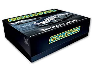 Scalextric C3169A Hypercars (Chrome Mercedes SLR & Bugatti Veyron) 1:32 Scale Limited Edition Slot Car