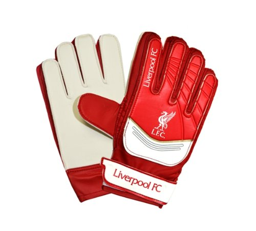 NEW OFFICIAL LIVERPOOL FC G/K GOALIE GLOVE (YOUTH)