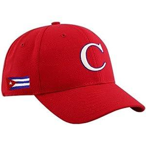 World Baseball Classic New Era Cuba World Baseball Classic Red Team Adjustable Hat