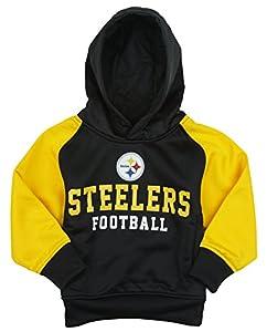 1723110f460660 Find Pittsburgh Steelers NFL Little Boys Team Performance Fleece Hoodie -  Black / Yellow