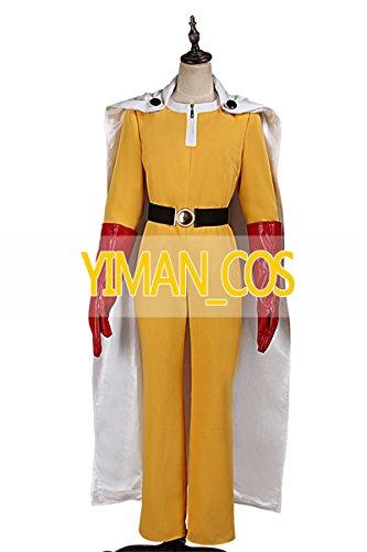 【オーダーメイド 】ワンパンマン サイタマ   コスプレ衣装  YIMAN_COS