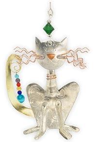 Pilgrim Imports Sly Cat Fair Trade Ornament
