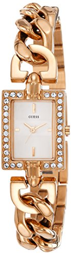 Guess W0540L3 - Reloj con correa de metal multicolor, para mujer, esfera de color blanco