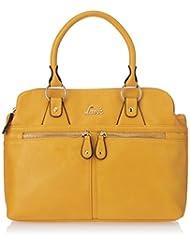 Lavie Women's Hawk 3C Med Dome Handbag (Yellow)