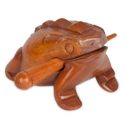 X8 Drums X8-FROG-L Croaking Ribbet Frog, Large