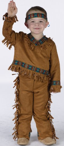 Costumes For All Occasions FW131021T American Indian Boy Toddler 3T-4T
