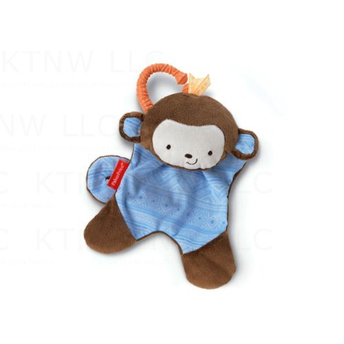 Fisher Price Cuddle Blankie Snugamonkey - Blue