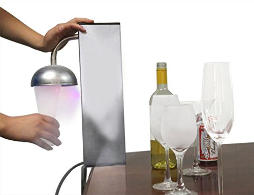Glass Chiller CO2 Dry Ice Glass Wine Cocktail Beer Chiller Froster Sparkling Water Soda Maker By INNOVECO