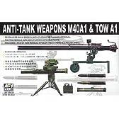 1/35 M40A1無反動砲 & TOW A1ミサイル