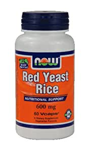 Amazon.com: Now Red Yeast Rice 600 Mg 60 Caps Healthy