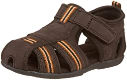 Jumping Jacks Baby Sport Fisherman Sandal (Toddler),Chocolate Brown Leather,20 M EU (4.5 M US Toddler)