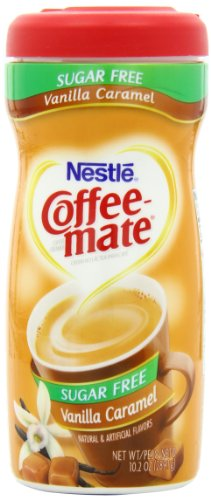 Coffee-Mate Vanilla Caramel, Sugar-Free Powdered Coffee Creamer, 10.2-Ounce Units (Pack of 6) at Sears.com