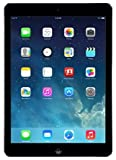 Factory Unlocked Apple iPad AIR (16GB, Wi-Fi + 4G LTE, Black with Space Gray) Newest Version