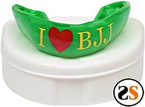 Custom I Heart BJJ Brazilian Jiu-jitsu Mouthguard