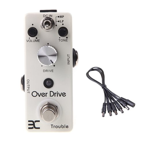 Global Sale Eno Dso-2 Overdrive Guitar Effect Pedal Hp/Lp Effects Modes+5 Way Daisy Chain Cable