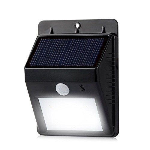 Solar Powered Security Floodlights Motion Activated