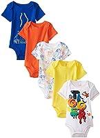 Disney Baby Baby-Boys Newborn Disney's Tigger Five-Pack Bodysuits