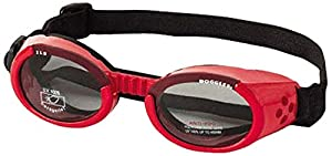 Doggles Dog Goggles ILS LARGE RED SHINY