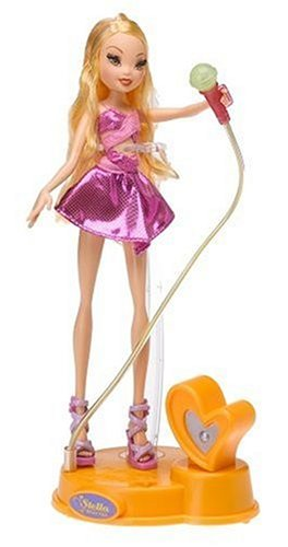 Buy Low Price Mattel Winx Club Singsational Magic Stella of Winx Club Figure (B000BVB3NQ)