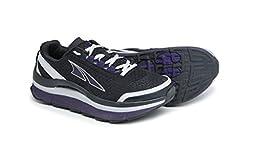 Altra Running Womens Olympus 1.5 Trail Running Shoe, Black/Purple, 9 M US