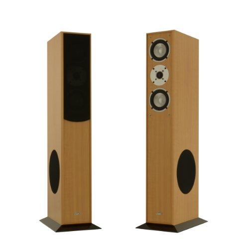 1-Paar-Standlautsprecher-Mohr-SL15-Buche-Lautsprecherboxen-HiFi-Klang-zum-gnstigen-Preis-elegante-HiFi-Standboxen-aus-Holz-als-Stereolautsprecher-oder-Heimkinolautsprecher-geeignet